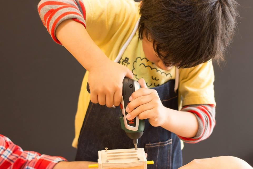 """小さな手にもフィットする""""子ども向け工具""""で、モノづくりをしてみよう"""