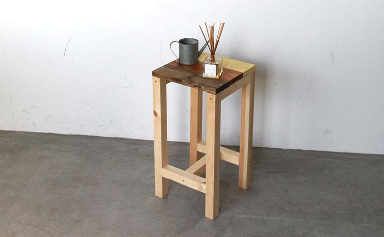 【おしゃれスツール】椅子をDIY!簡単な作り方