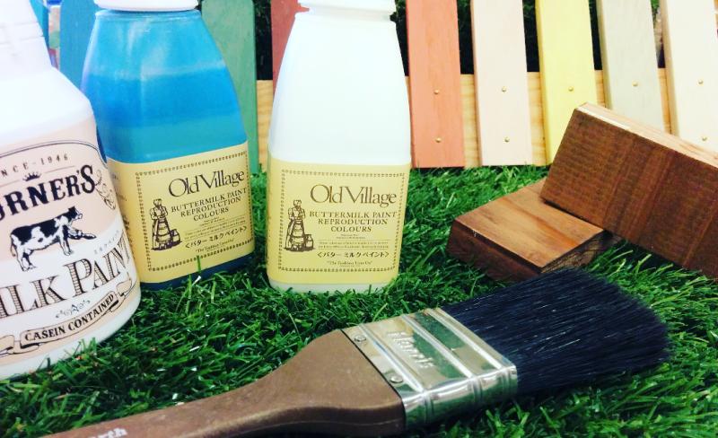 質感までも変えられる。DIYでおすすめの塗料の種類と特徴を紹介!