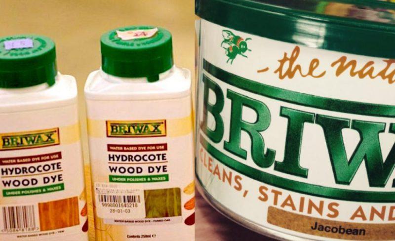 ブライワックス×ウッドダイ、重ね塗りのおすすめ色見本