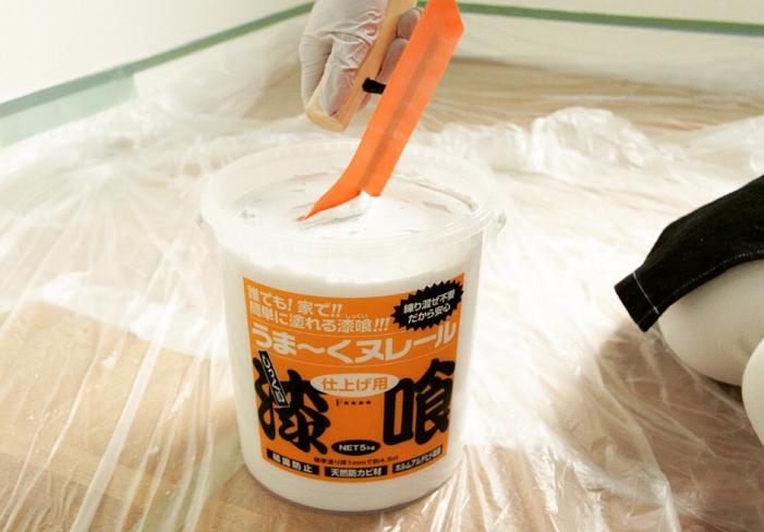 本格漆喰壁に挑戦するなら「うま~くヌレール」
