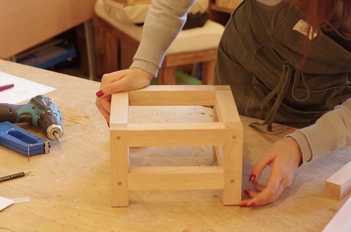 DIYしたテーブルや椅子のガタツキなおし方