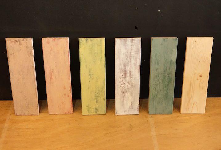 アンティークDIY!ミルクペイントの重ね塗りでつくるおすすめの色見本と組み合わせ