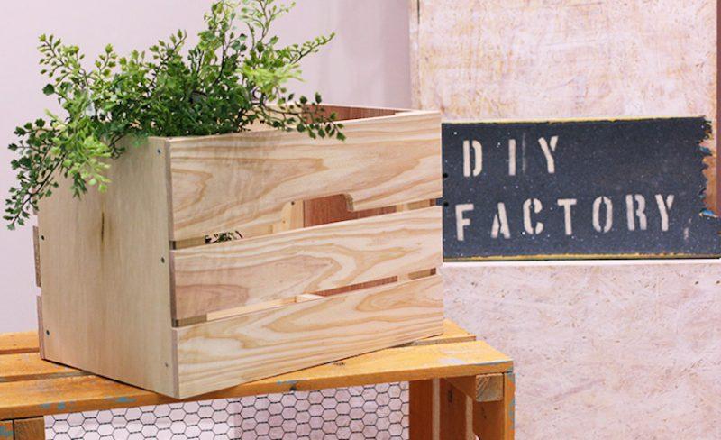 使い道たくさん!リンゴ箱(木箱)のリメイクDIYアイディア
