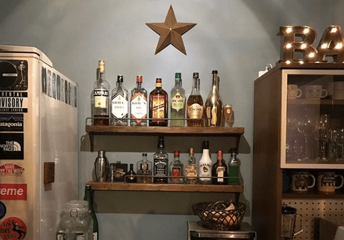 素敵なキッチン収納!スパイスラックや食器棚のDIYアイディア集
