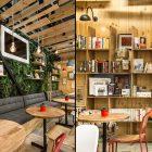 """世界の本屋&カフェに学ぶ""""魅せる本棚""""の作り方。収納上手になるコツ"""