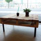 [動画レシピ] 古材リメイク!足場板でヴィンテージ感のあるローテーブルをDIY