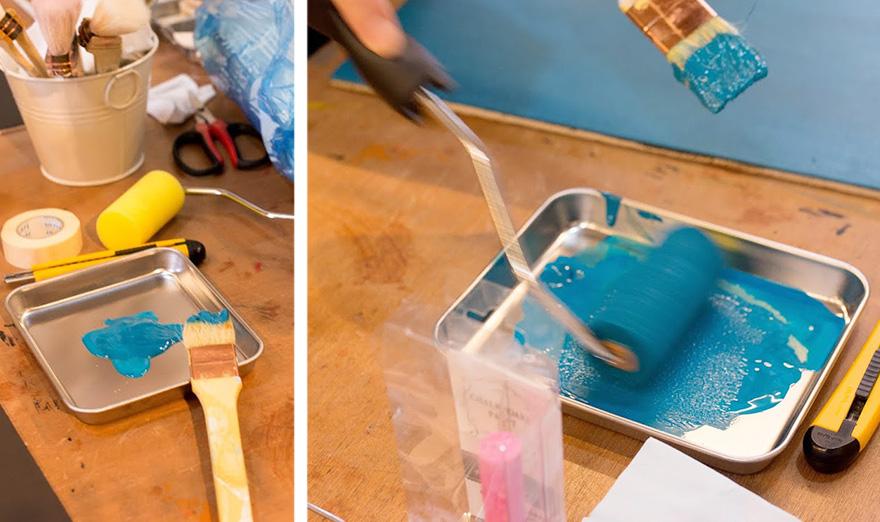 塗装ローラー使い方!ペイントDIYツールの使用方法を解説します