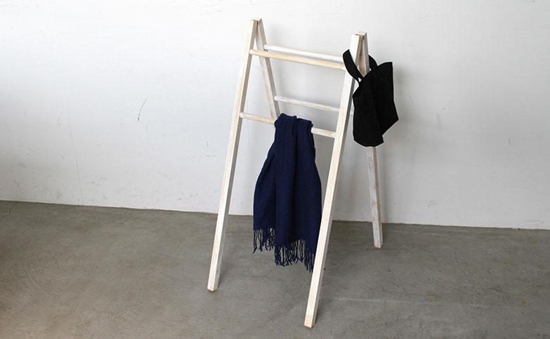 【はしごDIYで見せる収納】短時間!おしゃれな「はしご棚」の作り方