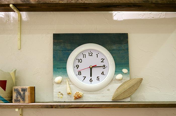 夏の風を感じる!西海岸風の時計の作り方