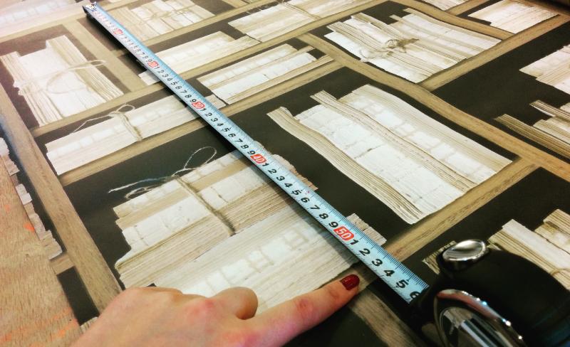 壁紙の必要量が分かる計算方法