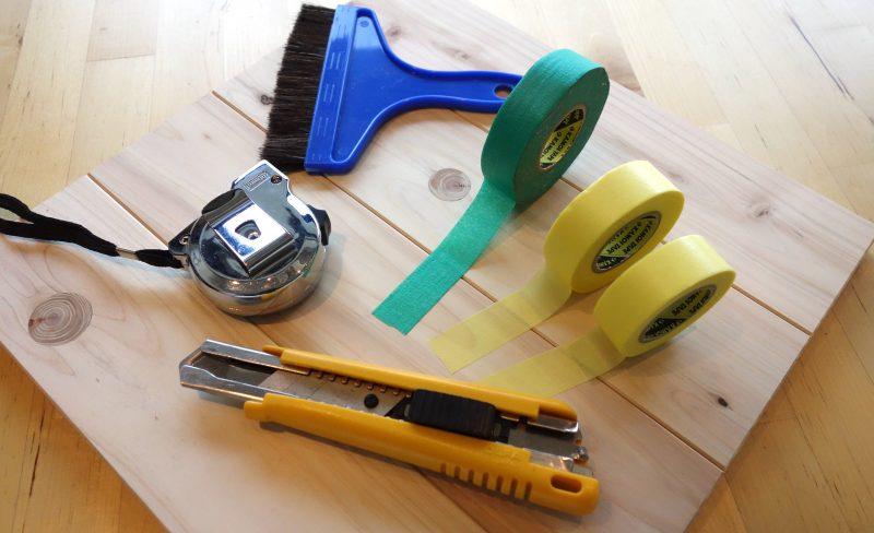 養生の方法とコツ、マスキングテープなどの使い方をまとめてご紹介!