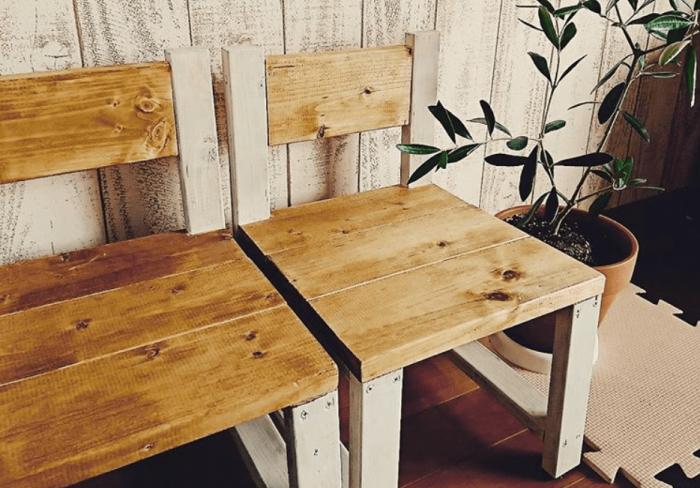 子供椅子からベンチまで!手作り椅子のDIYアイディア集