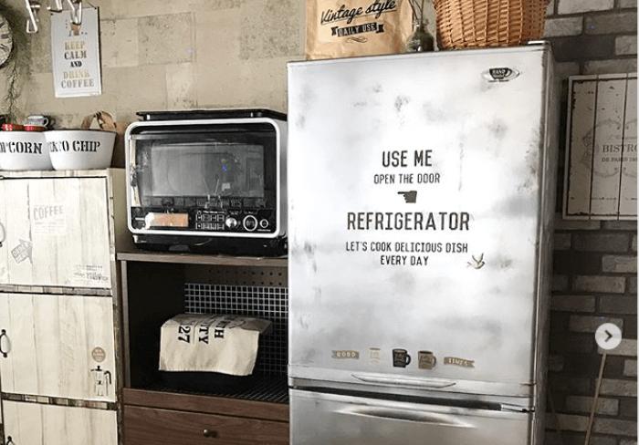 冷蔵庫リメイクでキッチンをおしゃれに!DIYアイディアまとめ