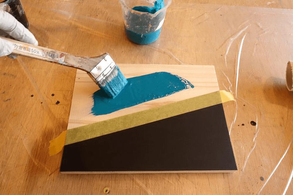 チョークボードペイントの塗装方法