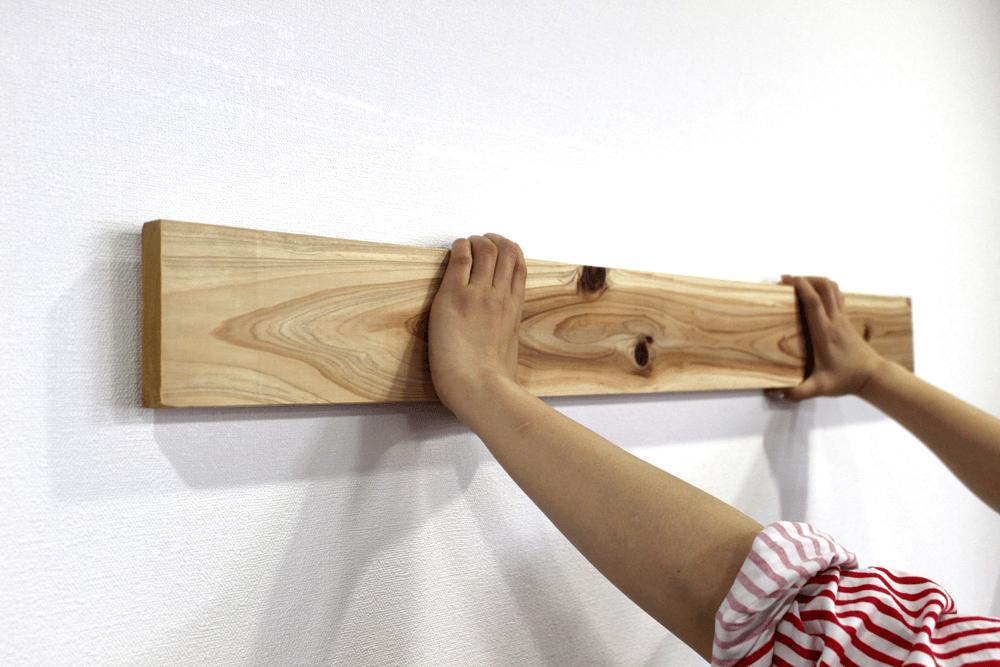 ナゲシレール板材取りつけ