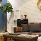 カフェ風が素敵なDIYショールーム、講師スタッフにより空間をまるっとDIY