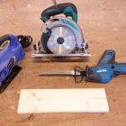 違いは何?ジグソー、丸ノコ、電動ノコギリ、木材切断工具の比較