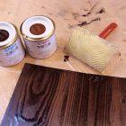 今話題のウッドパターンを試してみた!塗料で自由な木目がつくれる